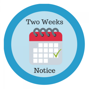 Two Weeks Notice Logo