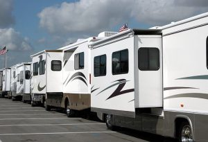 several rvs in a row