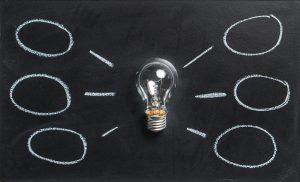 process and light bulbs