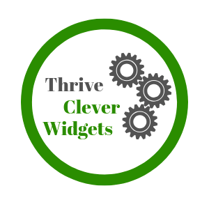 thrive clever widgets logo