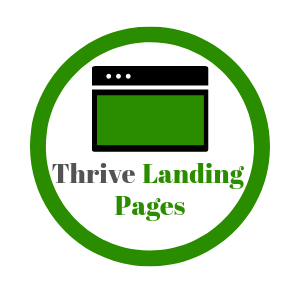thrive landing pages logo